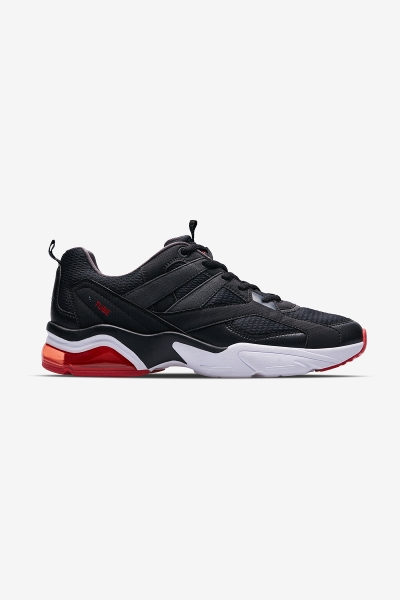 Men Airtube Debut Sports Shoes Black