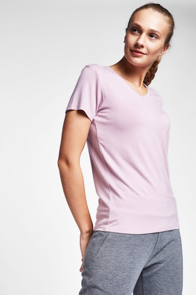 Lila Kadın T-Shirt 20S-2202-20B