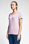 Siyah Kadın T-Shirt 20S-2205-20B
