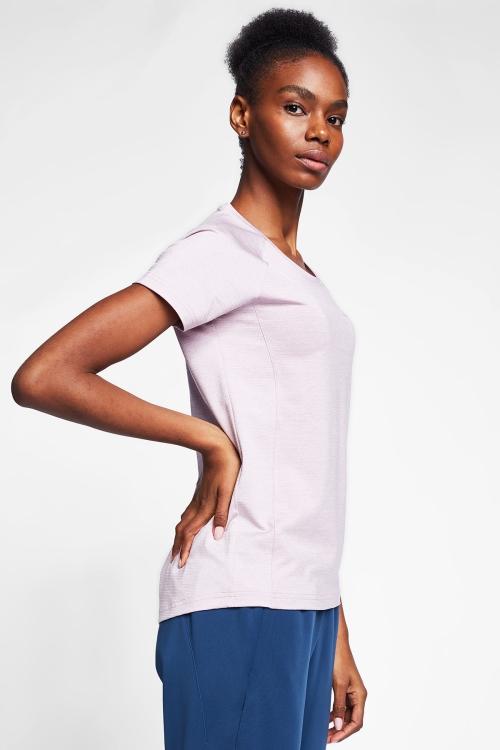 Lila Kadın T-Shirt 20B-2004