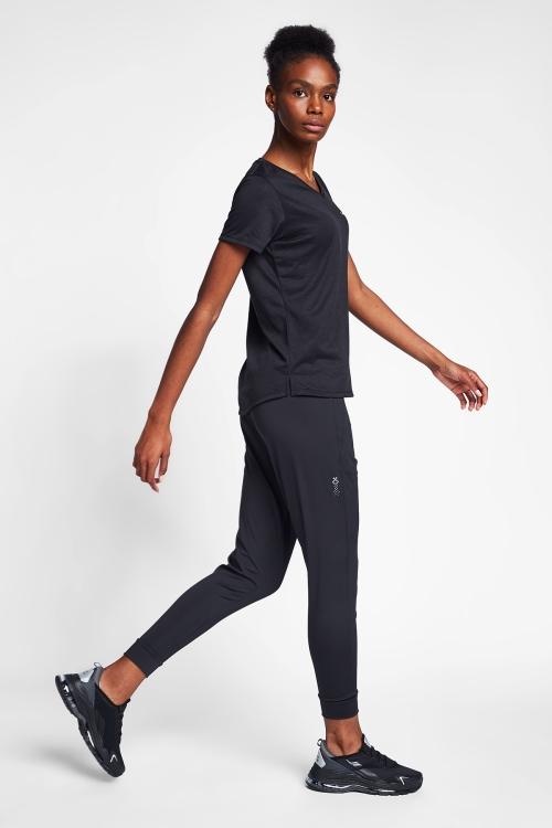 Siyah Kadın T-Shirt 20B-2005