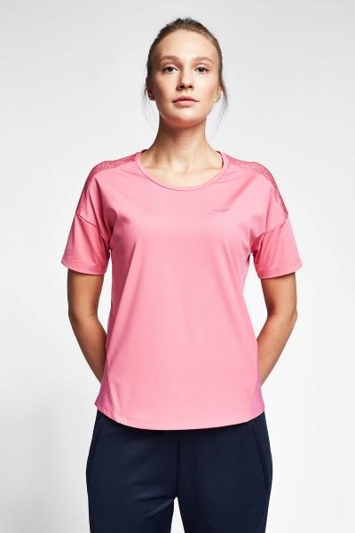 20B-2022 Women Exercise T-Shirt Pink