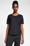 Siyah Kadın T-Shirt 20B-2022
