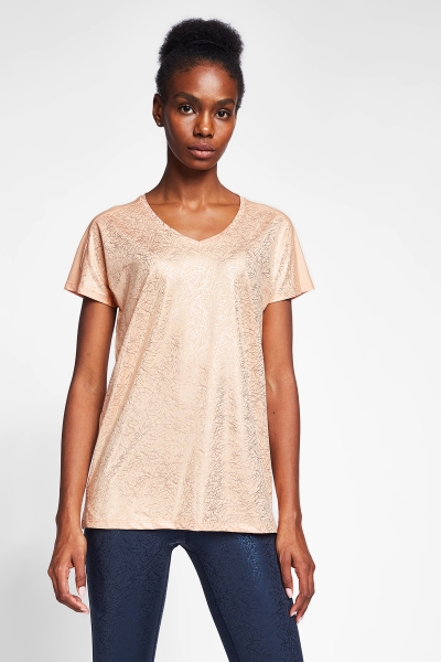 Şeftali Kadın T-Shirt 20B-2023