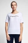 20B-2103 Women Short Sleeve TShirt White