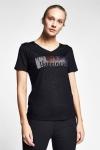 Siyah Kadın T-Shirt 20B-2107