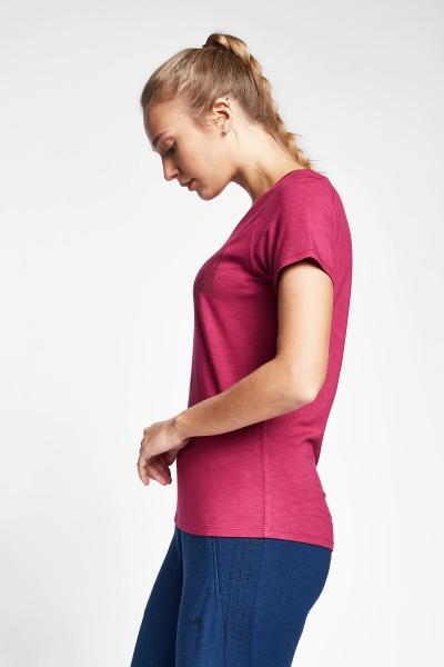 Kırmızı Kadın T-Shirt 20B-2107