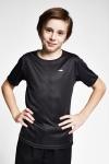Siyah Çocuk T-Shirt 20S-3220-20B