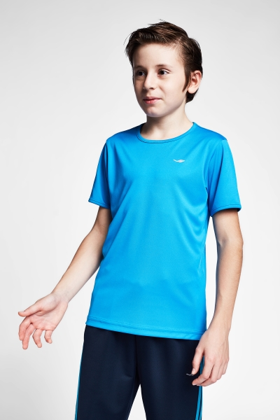 20S-3220-20B Kid Short Sleeve TShirt Navy