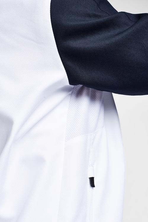 Beyaz Koyu Lacivert Çocuk Eşofman Takımı 20B-3043