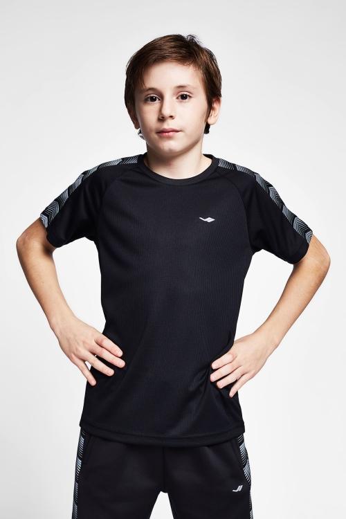 Siyah Çocuk T-Shirt 20B-3131