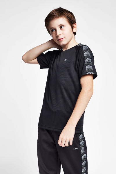 20B-3131 Kid Short Sleeve TShirt Black