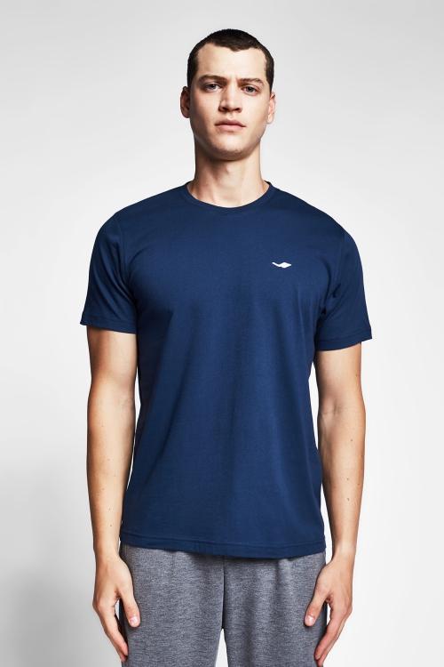 Safir Mavi Erkek T-Shirt 20S-1202-20B