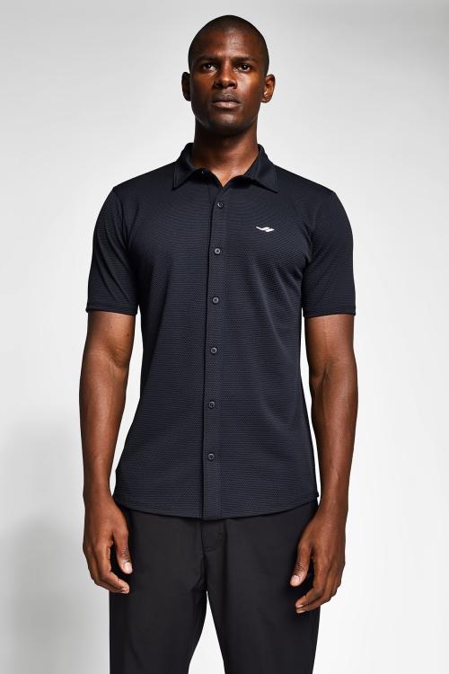 Siyah Erkek Gömlek 20S-1207-20B