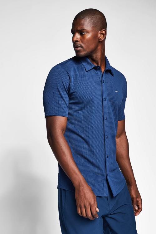 Safir Mavi Erkek Gömlek 20S-1207-20B
