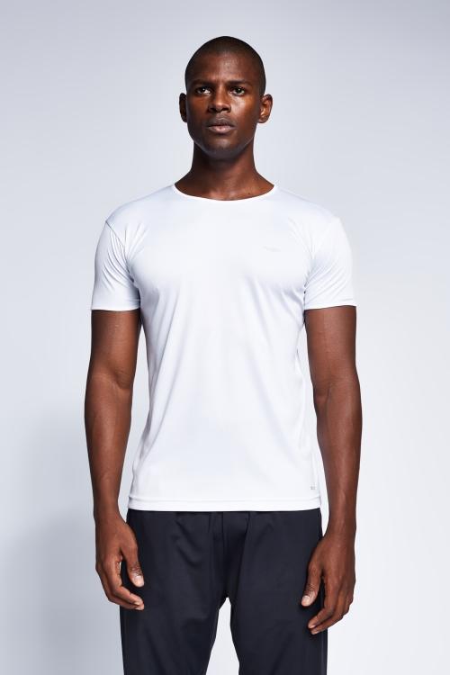 Beyaz Erkek T-Shirt 20S-1220-20B