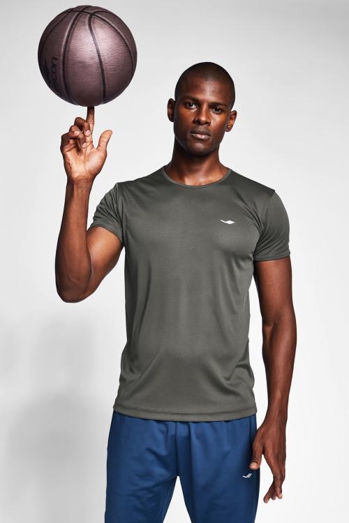 Haki Erkek T-Shirt 20S-1220-20B