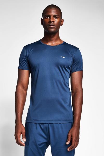 Safir Mavi Erkek T-Shirt 20S-1220-20B