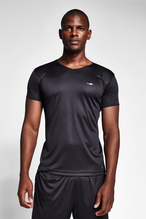 Siyah Erkek T-Shirt 20S-1221-20B