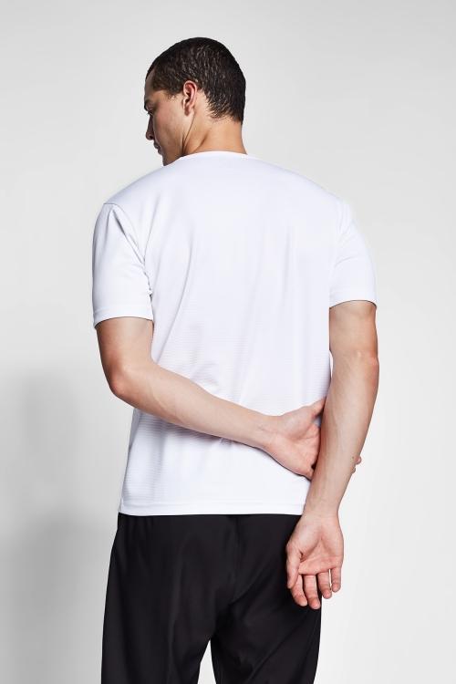Beyaz Erkek T-Shirt 20S-1231-20B