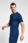 Safir Mavi Erkek T-Shirt 20S-1231-20B