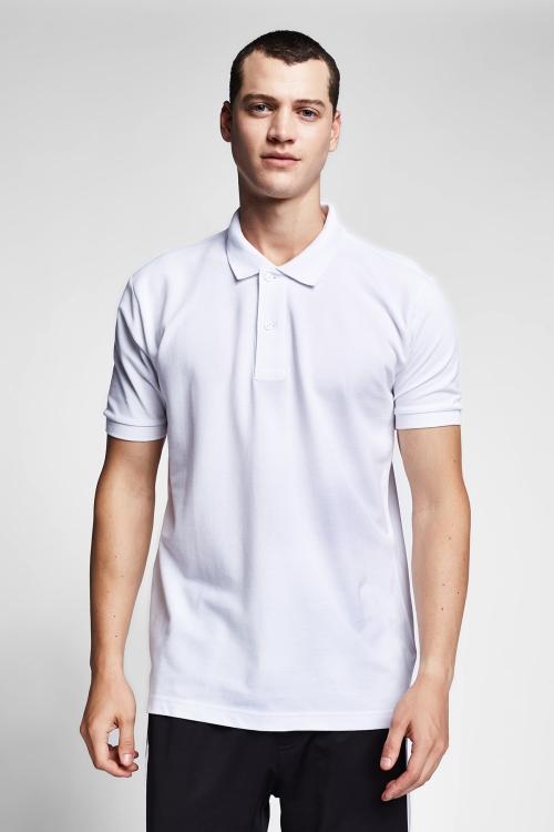 Beyaz Erkek T-Shirt 20S-1251-20B