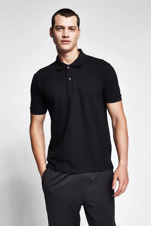 Siyah Erkek T-Shirt 20S-1251-20B