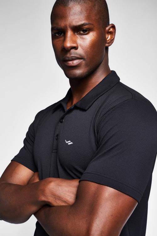 Siyah Erkek T-Shirt 20S-1275-20B