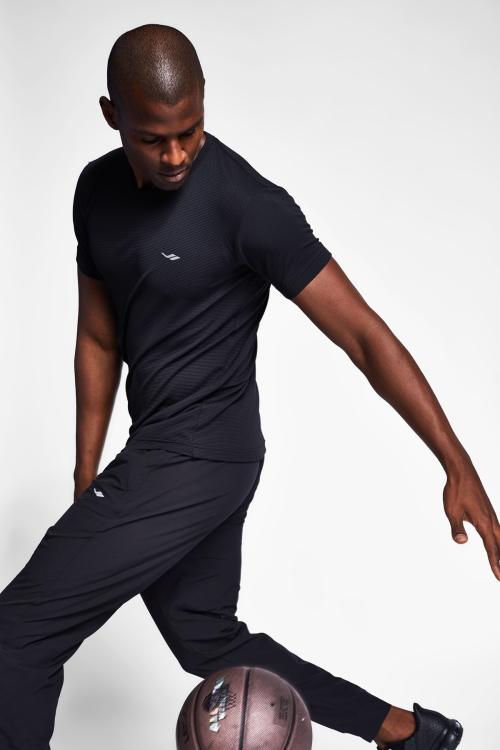 Siyah Erkek T-Shirt 20S-1294-20B