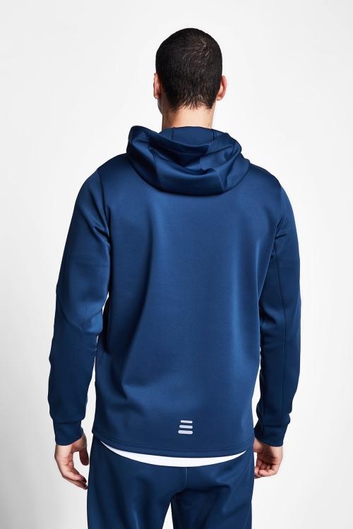 Safir Mavi Erkek Kapüşonlu Üst 20B-1002