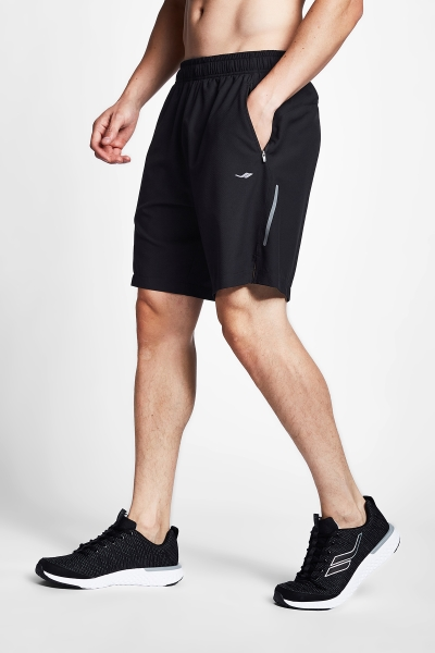 20B-1005 Men Running Short Black