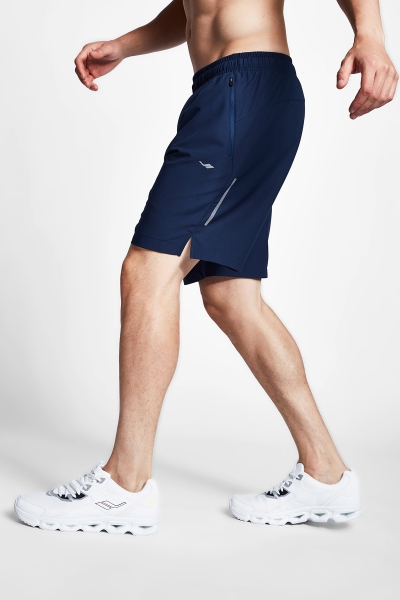 20B-1005 Men Running Short Navy