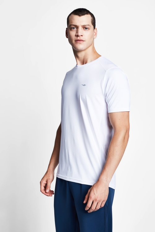 Beyaz Erkek T-Shirt 20B-1008