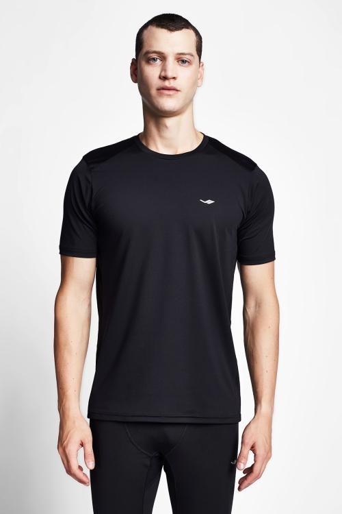 Siyah Erkek T-Shirt 20B-1008