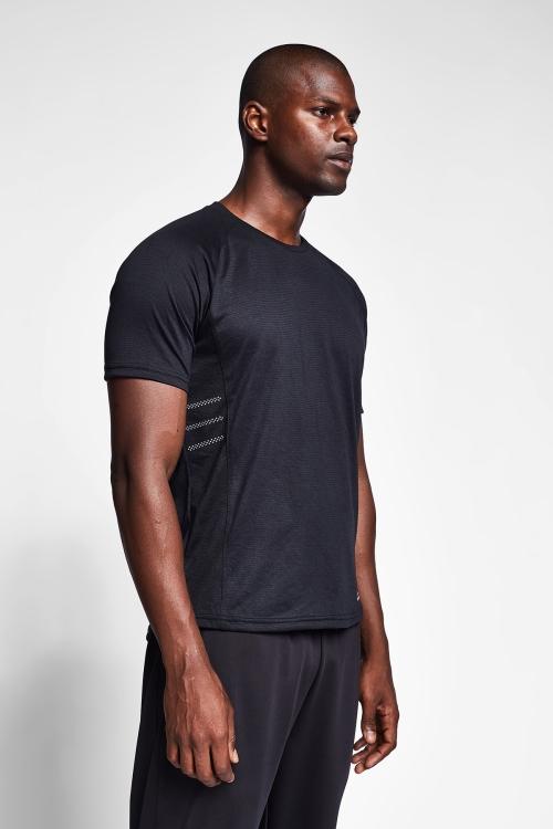 Siyah Erkek T-Shirt 20B-1019