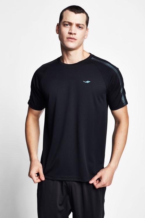 Siyah Erkek T-Shirt 20B-1030