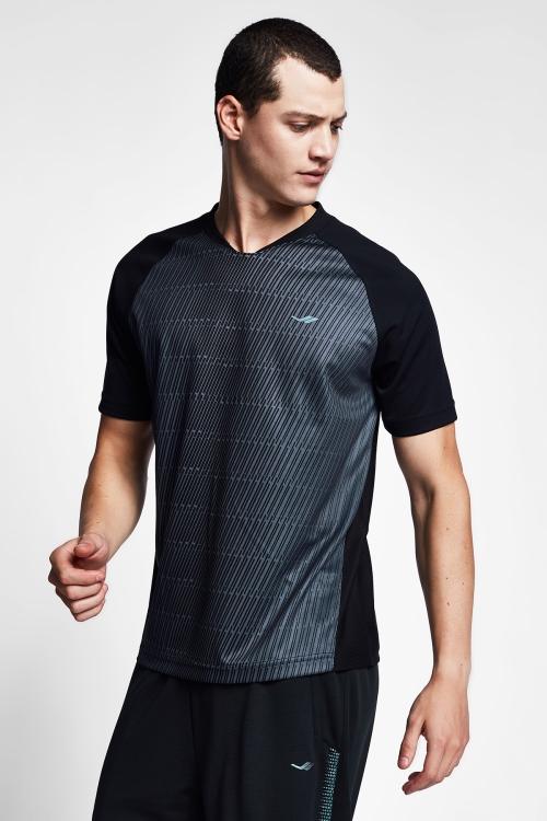 Siyah Erkek T-Shirt 20B-1031
