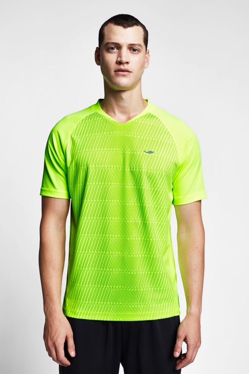 Neon Sarı Erkek T-Shirt 20B-1031