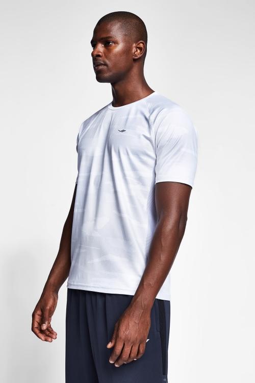Beyaz Erkek T-Shirt 20B-1033