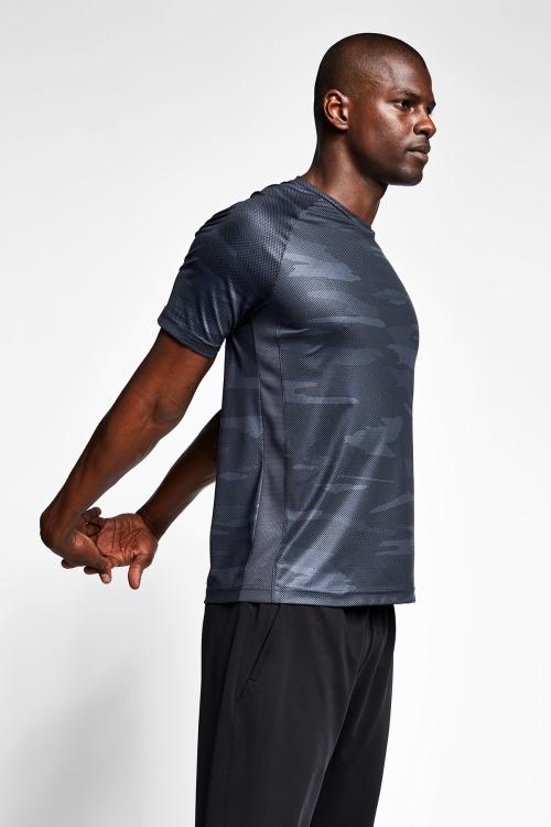 Antrasit Erkek T-Shirt 20B-1033