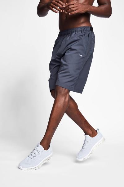20B-1036 Men Exercise Shirt Grey