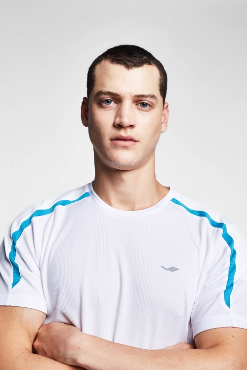 Beyaz Erkek T-Shirt 20B-1048