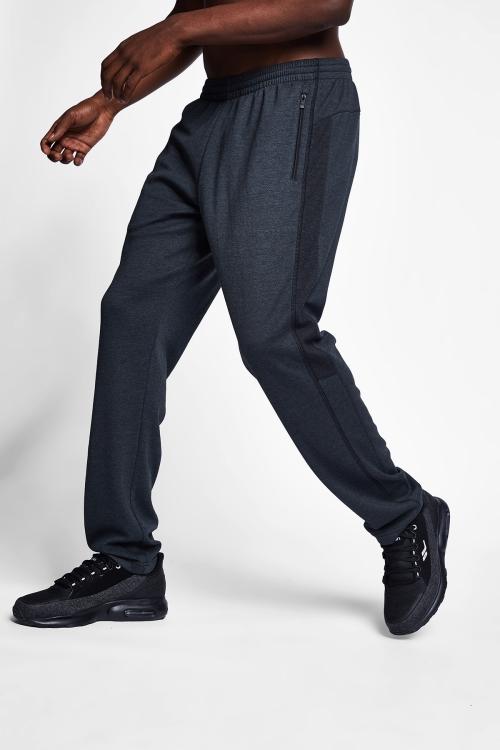Siyah Erkek Eşofman Alt 20B-1108