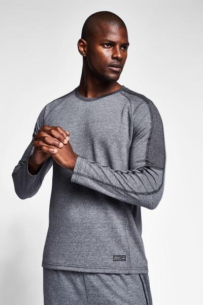20B-1119 Men Sweatshirt Grey