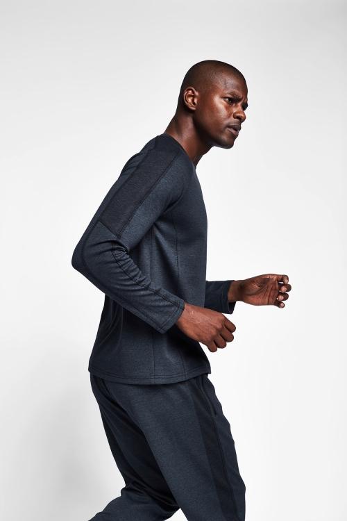 Siyah Erkek Sweatshirt 20B-1119