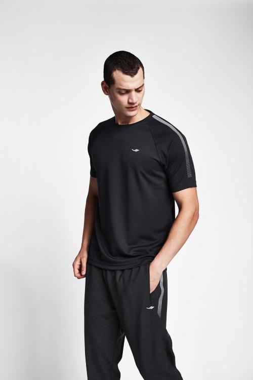 Siyah Erkek T-Shirt 20B-1139