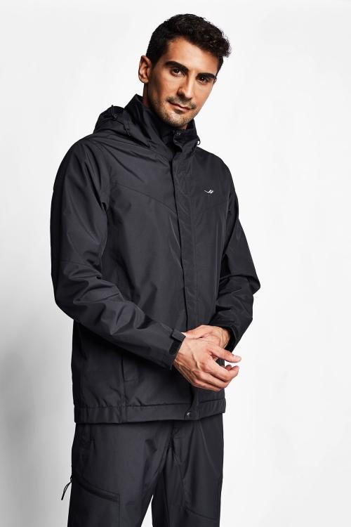 Siyah Erkek Yağmurluk 20K-1067