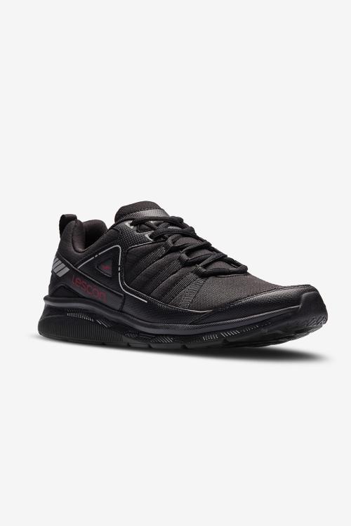 Hellium Cross 2 Siyah Erkek Spor Ayakkabı