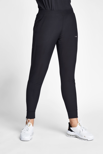 20S-2264-20N Women Track Pants Black