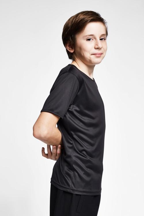 Siyah Çocuk T-Shirt 20S-3220-20N